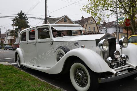 1933 Rolls Royce Phantom for Wedding