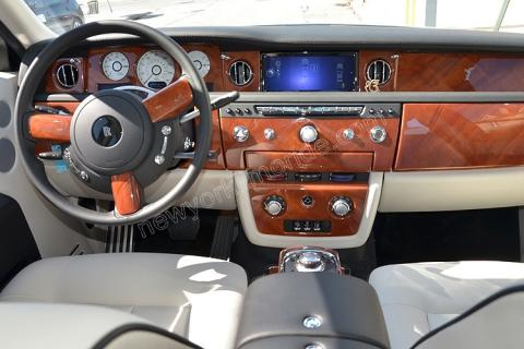 New York Rolls Royce Phantom Interior