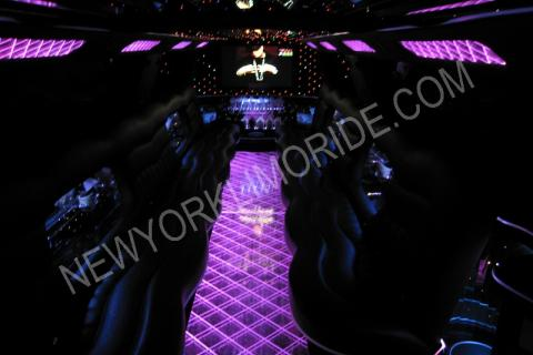Cadillac Escalade limousine for wedding service in NYC