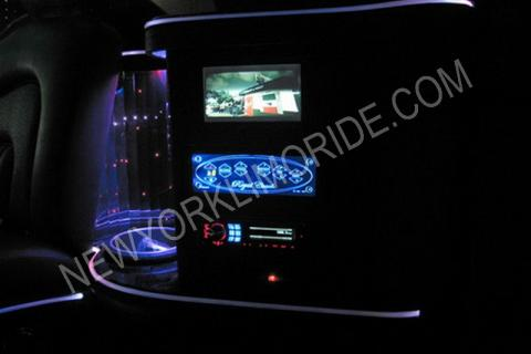 Cadillac Escalade limousine for proms